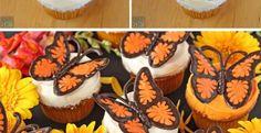 Dans le même ordre d'idée que le tutoriel vidéo que j'ai partagé plus tôt pour fabriquer des papillons en chocolat, voici une version Monarque! J'avoue partager ce billet en particulierpour une amie à moi, qui adore les papillons Monarque. Bisous m