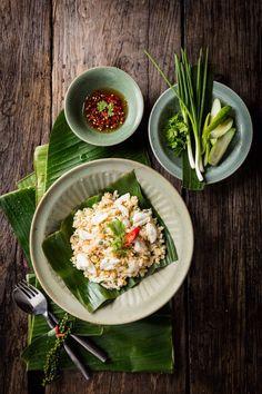 Thai Foods | Crab Fried Rice