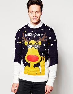 bd16f6e776c6 Image 1 of Brave Soul Christmas Rudolph Jumper