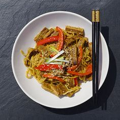 Get inspired and try this delicious Sesame & Steak Stir-fry recipe with Quorn Steak Strips from The Diet Kitchen. Enjoy meat free alternatives…