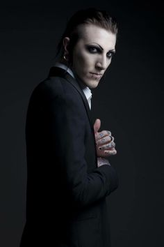 fuck okay yes #chris #motionless in suits is my sexuality cause like fucking look at that motherfucker