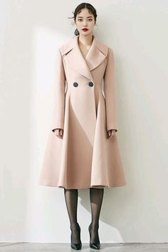 dress and coat outfit Modest Fashion, Hijab Fashion, Korean Fashion, Fashion Outfits, Womens Fashion, Fashion Trends, Outfit Essentials, Hijab Style Dress, Moda Outfits