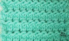 Punto de Cadenas para tejer mantas y ropa de bebé en dos agujas