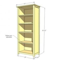 I want to make this! DIY Furniture Plan. This DIY furniture plan contains everything that you need to know to build your own Pottery Barn Teen Inspired Chatham Bookcase . Step by step instructions include cut list, shopping list, and full diagrams. These free do it yourself project plans show you how to build a bookshelf.