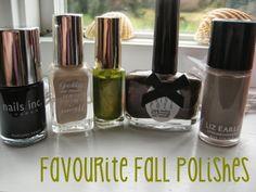Favourite Fall Polishes
