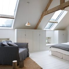 Like Joinery at edge of wall/ceiling plus the feeling of open light and spacious