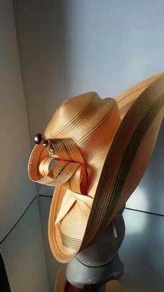 Harriet Rosebud Hats - Gold