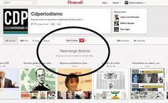 Reordena los tableros de Pinterest de acuerdo a su importancia