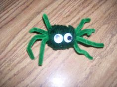 Yarn Wrapped Spider Take two