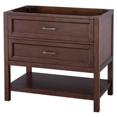 Foremost Georgette 30 in. Single Bathroom Vanity http://www.houzz.com/photos/44658804/Georgette-Bathroom-Vanity-Cabinet-Walnut-30-transitional-bathroom-vanities-and-sink-consoles