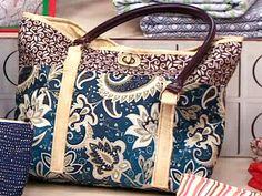 Renata Silva mostra como é fácil fazer uma bolsa de tecido.