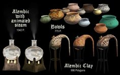 The Medieval Smithy SIMS 2: Alchemy Set (Part 1)