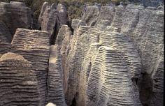 Pancake Rocks, Punakaiki, NZ. Photo © Teresa Connor