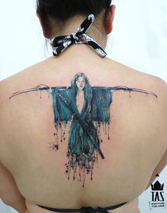 Rodrigo Tas, tattoo artist | one of the most perfect pieces of ink that i've EVER seen.period.