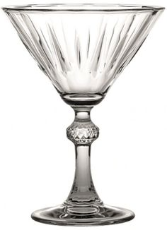 Set of 6 Vintage Style Martini Cocktail Glasses #Pasabache