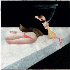 The Raven: Lou Reed's Adaptation of Edgar Allan Poe, Illustrated by Italian Artist Lorenzo Mattotti   Brain Pickings