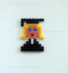 Graduation hama beads by Las cosicas de Luisa