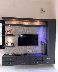 Living Room Partition Design, Pooja Room Door Design, Living Room Tv Unit Designs, Room Partition Designs, Ceiling Design Living Room, Home Room Design, Bedroom Tv Unit Design, Living Room Wall Units, Tv Wall Unit Designs