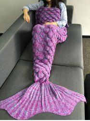 SHARE & Get it FREE | Fish Scales Design Crochet Knitting Mermaid Tail Style BlanketFor Fashion Lovers only:80,000+ Items • New Arrivals Daily • Affordable Casual to Chic for Every Occasion Join Sammydress: Get YOUR $50 NOW!