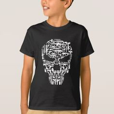 #Skull and Guns and Knives Graphic T shirt Tees - #cool #kids #shirts #child #children #toddler #toddlers #kidsfashion