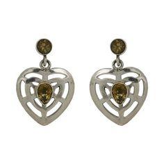 Bijoux St Valentin - Boucles d'oreilles en Argent et Citrine de ShalinIndia, http://www.amazon.fr/gp/product/B00B1NYLHI/ref=cm_sw_r_pi_alp_kCJerb0632TM2