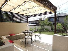 大きな敷地をいかした実例 2 『イメージを共有する重要性』 ~ライフスタイルにあったお庭~  | ザ・シーズン大阪北店のブログ | おしゃれな外構と庭のTOPICS
