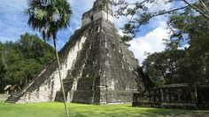 Tikal Mayan Ruins From Belize