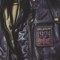 #Belstaff #waxjacket #belstaffchampion #moto #motorcycle #button #vintage #england #1924 #limited #madeinItaly #biker #bikerjacket #topgear