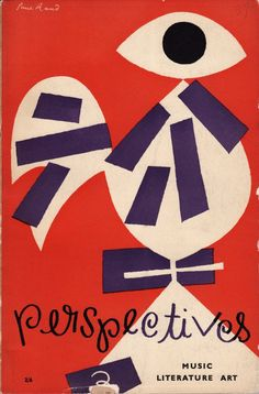 Paul Rand (Alvin Lustig art direction) | Mid-Century Modern Graphic Design