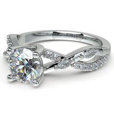 Ivy Diamond Engagement Ring in Platinum https://www.brilliance.com/engagement-rings/ivy-diamond-engagement-ring-platinum