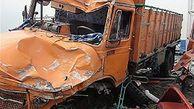 حادثه مرگبار تصادف در محور هرسین - کرمانشاه   دوتن جان باختند