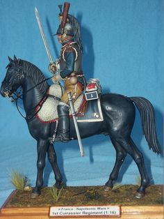 French Cuirassier, miniart 1:16 by johnyital