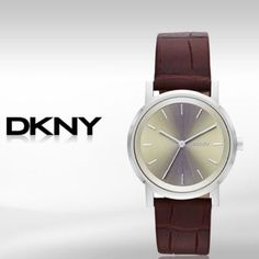 DKNY women's watch DKNY Soho Burgundy Croc-Embossed Leather Strap Women's watch, used gently, no scratches on the upper part, just a few on the inner side. DKNY Accessories Watches