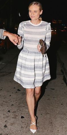 Look of the Day - July 19, 2014 - Diane Kruger from #InStyle