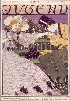 Otto Eckmann: Die Jugend (1897) (Ephemera)