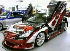 Toyota Celica Pimped Out Cars Modified Cars Sweet Cars Custom Paint Custom