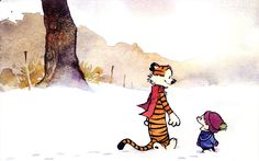 Calvin and Hobbes 1680x1050 Wallpaper
