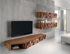 10 Modern Floating Media Cabinet For the Living Room - Rilane ...