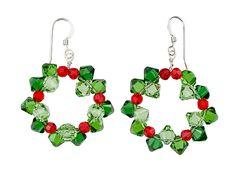 Swarovski Wreath Earrings Kit