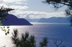Le fjord Saguenay.