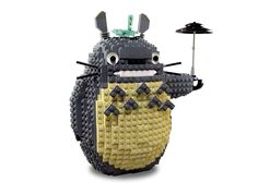 Totoro made out of lego