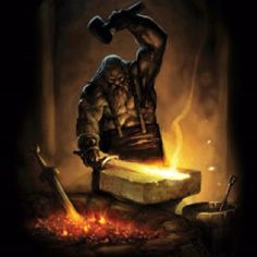 Hephaestus---God of Forge and Fire, Workman to the immortals