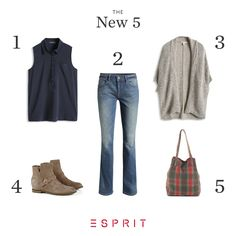 #Esprit #jeans and #ankle #boots - perfect for a #casual look