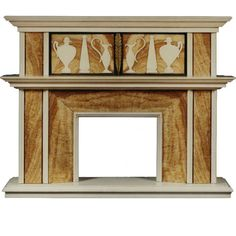 Extraordinary Art Deco Period Chimneypiece In The Antique Taste | From a unique collection of antique and modern fireplaces and mantels at http://www.1stdibs.com/furniture/building-garden/fireplaces-mantels/