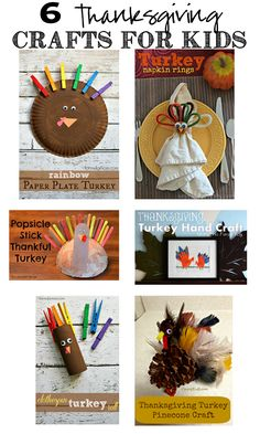 6 Easy and Adorable Thanksgiving Turkey Crafts For Kids