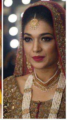Stunning look! Makeup by Bina khan