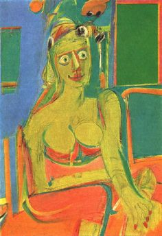 Seated Woman 2 - Willem de Kooning