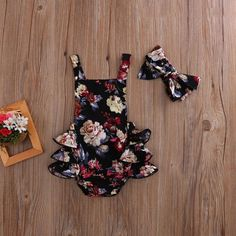 Magdalena Floral Ruffle Romper - Baby Club – online baby clothes stores where you can find fashionable baby clothes. There is a kid and baby style here. Source by babyshopclothing - Cute Baby Girl Outfits, Cute Baby Clothes, Kids Outfits, Baby Girl Clothes Summer, Cute Baby Stuff, Baby Girl Romper, Baby Girl Outfits Newborn Winter, Fall Baby Outfits, Toddler Outfits