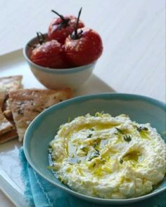 Lemon and Feta Dip.