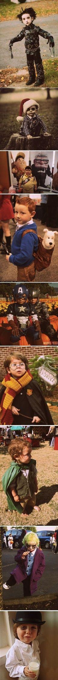 Pretty sure the Harry Potter kid is mine, at the Hobbit is @Erin B B Midgett Trindles.